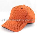Chapeaux 100% de sport de golf de base-ball de tissu de Mircrofiber de polyester (TMR4517)