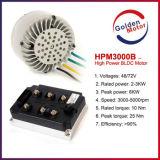 motor impulsor eléctrico de la moto Motor/MID del kit 48V /72V /96V BLDC de la conversión de la motocicleta 3kw con el certificado del Ce