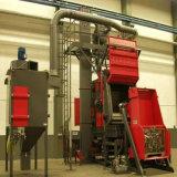 Machine extérieure de nettoyage suivie par acier de grenaillage