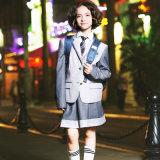 Couche de blazer de l'uniforme scolaire des enfants personnalisés