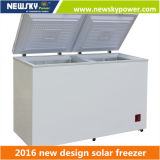 433L 212L Singel & 두 배 온도 DC 태양 가슴 냉장고