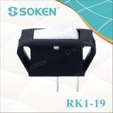 Interruptor de eje de balancín del Pin de Soken 2 Rk1-19 1X1