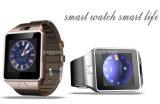Smartwatch Dz09の電話腕時計、SIMのカードが付いているBluetoothの人間の特徴をもつ腕時計