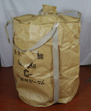 Klassieke Beige Ronde Zak Ppbig/Container Bag/FIBC