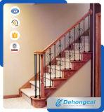 柵で囲む最新の錬鉄階段/鉄階段手すり/階段手すり