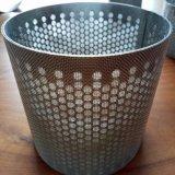 304 316 цилиндра фильтра ячеистой сети нержавеющей стали спеченных