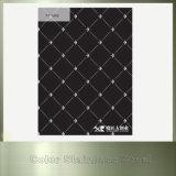 Plaques noires d'acier inoxydable de couleur du numéro 8 de miroir pour le matériau de construction
