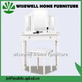 Vector de preparación de los muebles del dormitorio con el espejo 3