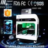 Nouveau modèle! Gravure au laser 3D machine à l'intérieur Crystal / verre (HSGP-2KC)