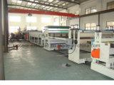 Chaîne de production de feuille de PC/machine d'expulsion creuses feuille de polycarbonate 2100mm