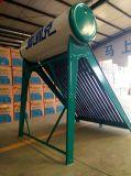 Hochdruck-schäumender Solarwarmwasserbereiter mit realen Materialien