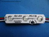 módulo do diodo emissor de luz da injeção de 3LED 5050 RGB para a letra de canaleta