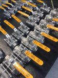valvola a sfera della saldatura dello zoccolo 3PC (acciaio inossidabile DN8-DN100)