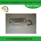 Cassa elettrica di alluminio anodizzata rossa di sistema di chiusura di precisione