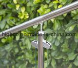 De regelbare Steun van de Buis voor de Balustrade en de Leuning van het Traliewerk van het Glas