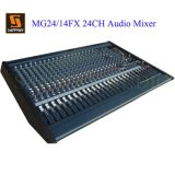 24 Channel DJ Professional Audio Mixer (MG24/14FX)
