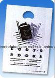 LDPEの透過印刷されたプラスチックによって型抜きされるハンドルのショッピング・バッグ