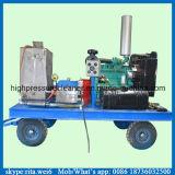 Equipamento de alta pressão industrial da limpeza do jato de água do líquido de limpeza da tubulação do motor elétrico