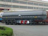 半50000L炭素鋼の燃料のタンカーのトレーラー