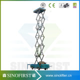 小さい空気の可動装置1の人は上昇またはホームクリーニングのエレベーターのAlumiumの上昇または空気の個人的な持ち上げリーダーを切る