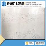 Preço branco da pedra de quartzo de Calacatta, lajes da pedra de quartzo do falso