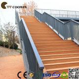 橋のための高力反紫外線木製のプラスチック合成のデッキ