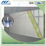 Folha 2016 lisa do cimento da fibra da celulose para o sistema da parede de divisória