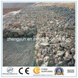 Caixa soldada galvanizada de Gabion para os preços de pedra da rocha da parede/gaiola de retenção