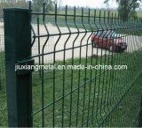 Barrières de treillis métallique de PVC