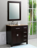中国Manufacturerとの標準的なSolid Oak Wood Bathroom Vanity