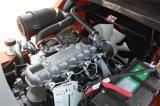 chariot élévateur de diesel de commande des vitesses de côté du chariot élévateur 3t