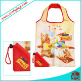 Concevoir l'impression en fonction du client de sac à provisions, sacs de polyester
