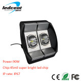 90W Bridgelux COB Chip LED Flood Light mit CER