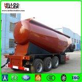 반 세 배 차축 45cbm 시멘트 탱크 유조선 대량 시멘트 탱크 트레일러