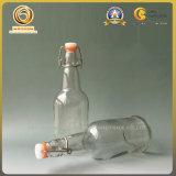 Bouteille de boisson à base de verre cobalt 16 oz / bouteilles de bière (091)