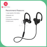 O fone de ouvido o mais novo de Bluetooth do esporte do projeto