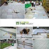 Projeto de estrada cinzento do granito de Singapore G654 G603