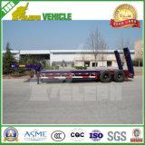 2 assen 30 Ton Cimc Laag Bed voor Semi Aanhangwagen