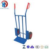 chariot bleu à main en métal