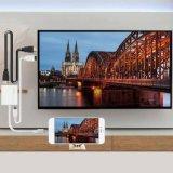 마이크로 USB 비용을 부과 케이블을%s 가진 번개 HDMI 접합기