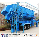 Selling chaud et coût bas Mobile Screening Plant