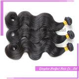 Cheveu indien de Vierge normale de vente en gros de prix usine pour bon marché
