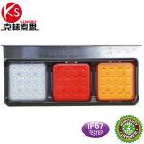 Ltl15에 의하여 IP67 정지 또는 안개 또는 테일 방수 처리하거나 트럭을%s LED 빛 24V가 반전한다