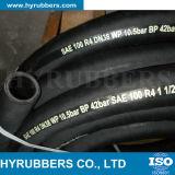 """Aspirazione materiale di gomma del tubo flessibile R4 idraulico 3/4 """" per vendita"""