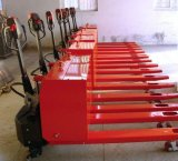 1000kg Semi Electric Battery Pallet Truck