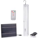 AC DC 5 점화 종류를 가진 재충전용 태양 에너지 LED 관 빛