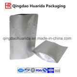 Sac de papier d'aluminium avec la tirette pour le conditionnement des aliments
