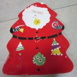 Plat en céramique peint à la main de vaisselle de Noël (GW1287)