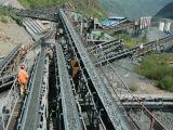 Transporte de correia da mineração