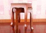 固体木の正方形の腰掛け(M-X2124)